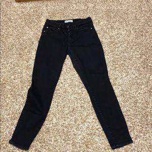 Gap skinny black jeans